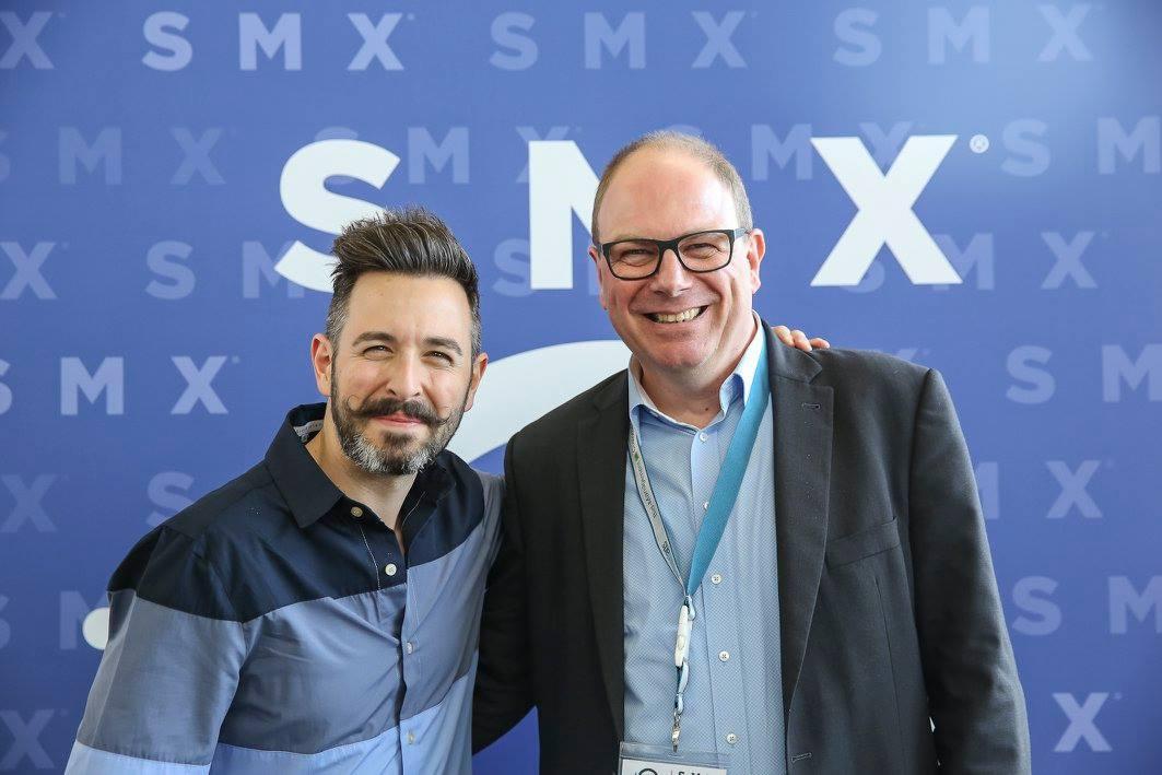 Rand-Fishkin mit Guido Pelzer auf der SMX 2016 in München